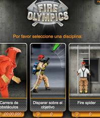 Contra incendio, Fire Olympics, Drager, videojuegos