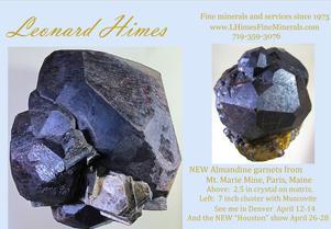 Mineral Specimen Galleries