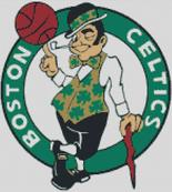 Boston Celtics Cross Stitch Cahrt Pattern