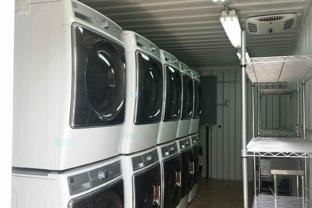 laundry rental unit