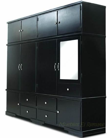 Closet modelo dinamita de 220cms x 220cms venta en for Closet de madera monterrey