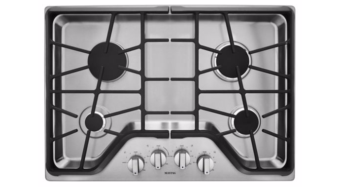 30-inch Thermador Masterpiece Series gas stovetop includes reignition