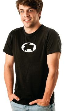Flying Pigs, Flying Pig, Bacon, Pirate, Bat Pig, Wings, Hoof, Swine, Grazing, Pig Symbol, tshirts, T-Shirts, Men