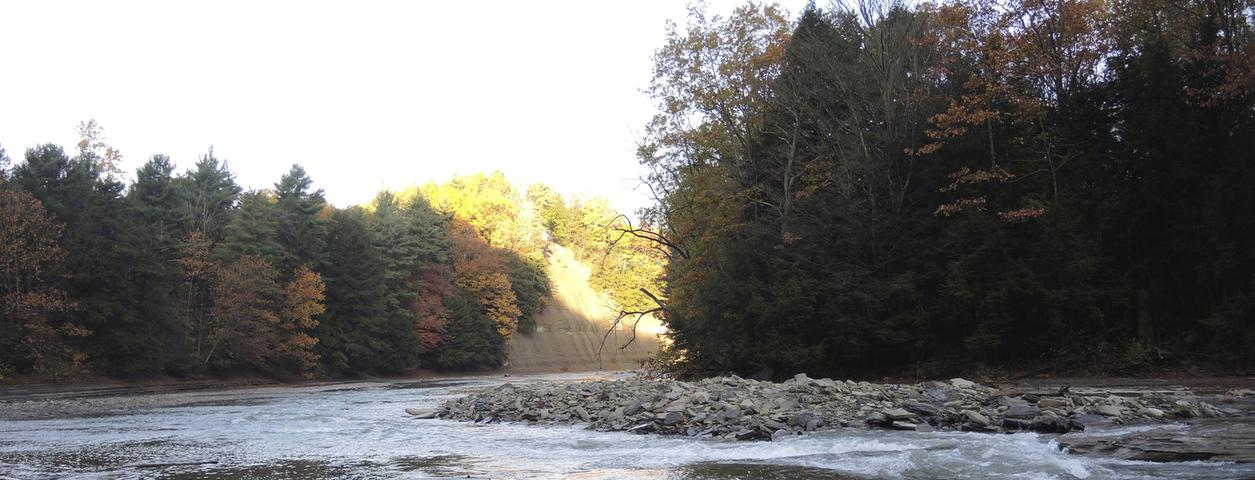 Hold the line outfitters cattaraugus creek fly fishing for Fishing trips nyc