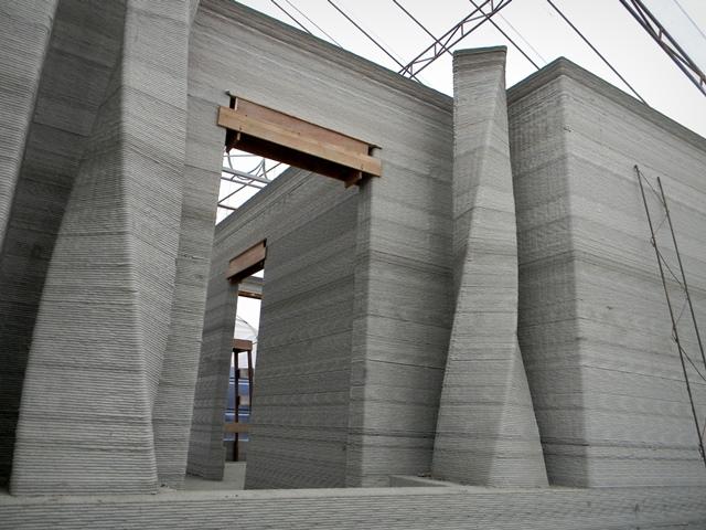 3D Concrete House Printer. Rudenko 3D Printer
