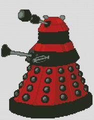 Doctor Who Red Dalek