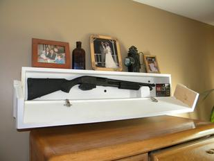 Secret Hidden Compartment Gun Safe
