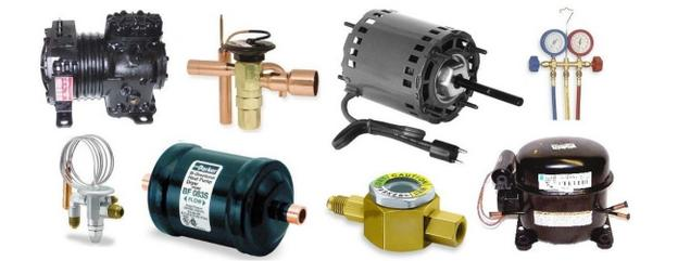 refrigeration compressor fan motor parts