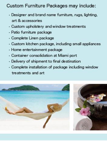 . Custom Furniture Packages