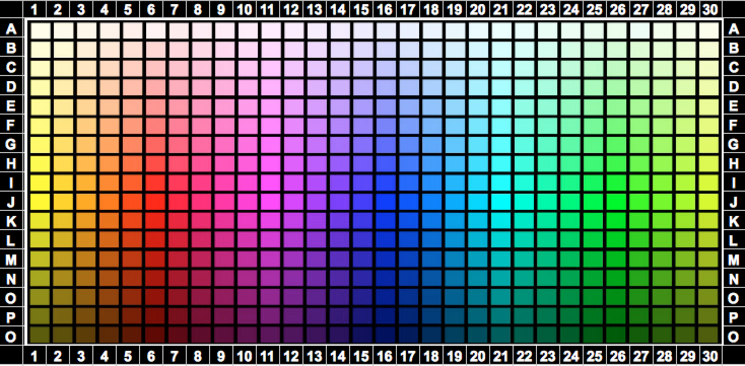 Uplighting Color Selector