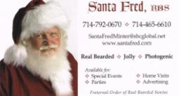 Santa Fred - Real Bearded