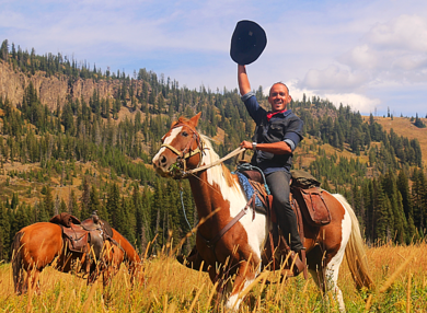Yellowstone National Park, Day Rides, Horseback riding