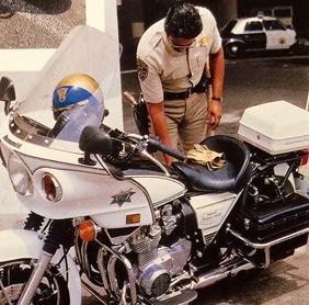 IMCDb.org: Kawasaki KZ 900 P Police in Disco 9000, 1977