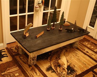 Unique Primtiques Beautiful 1800's Reclaimed Barn Wood Coffee Table  Primitive Antique Home Cabin Decor Piece - Barn Wood