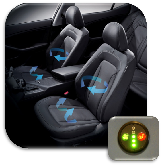 Take Your Driving Comfort To The Next Level With Option Of Installing Heated Cooled Seats In Vehicle