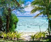 Cook Islands Real Estate beach on Rarotonga