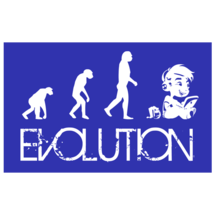 Evolution Custom Sticker