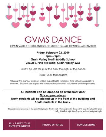 Grain Valley Middle School Dance