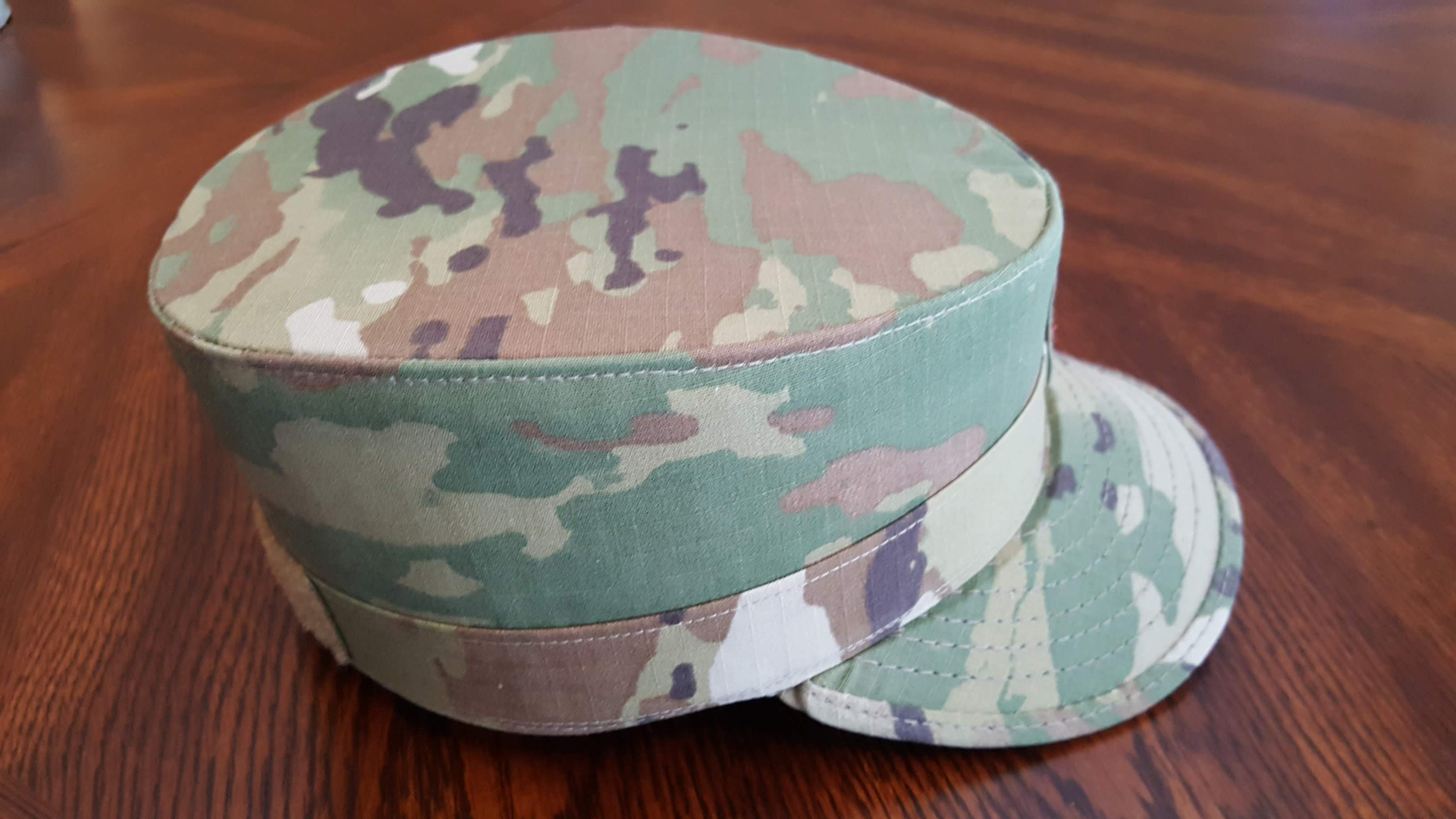 Air Force blocked hats
