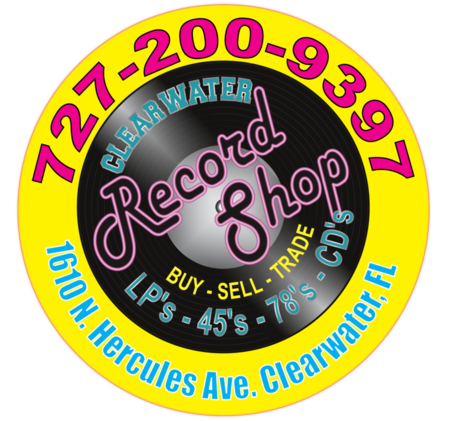 The Clearwater Record Shop - Vinyl Records, CDs