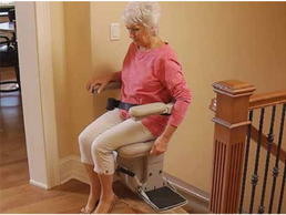 Elite Indoor Stairlift Power Swivel Seat