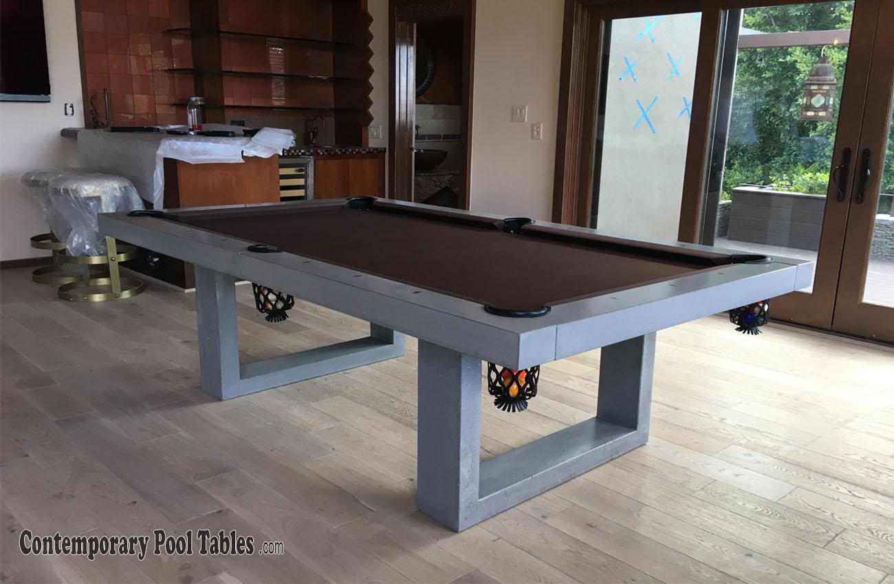 Concrete Pool Tables Pool Table Pool Tables Billiard Tables