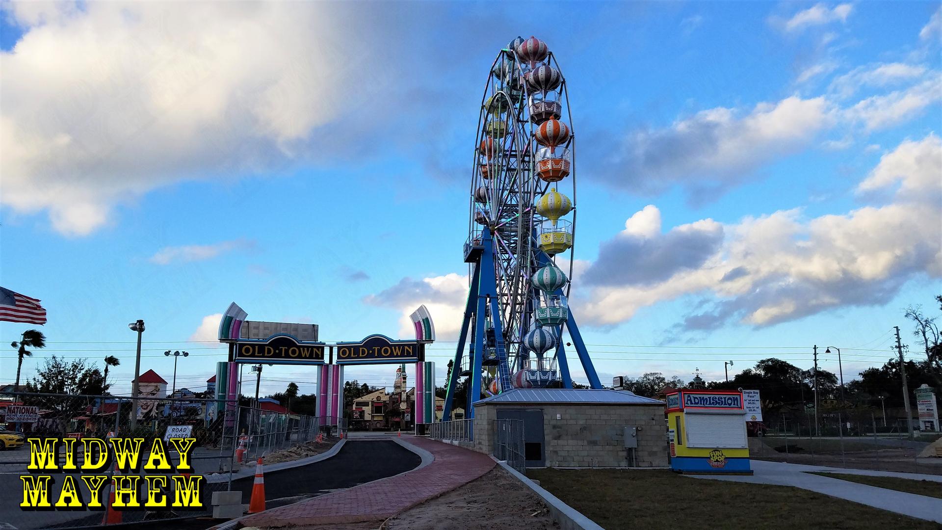 fun spot america kissimmee new coaster construction update 1 23 17