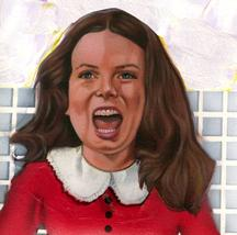 Veruca Salt in WILLY WONKA by CLIFF CARSON