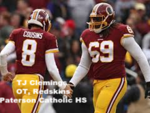 T.J. Clemmings Offensive Tackle for the Washington Redskins