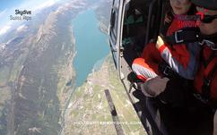 helicopter skydive switzerland