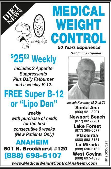 Weight Loss In Placentia Ca Joseph Ravenna Jr M D