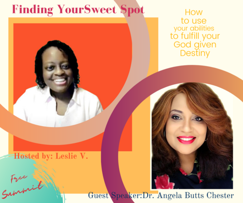 Finding Your Sweet Spot featuring Dr. Angela Chester