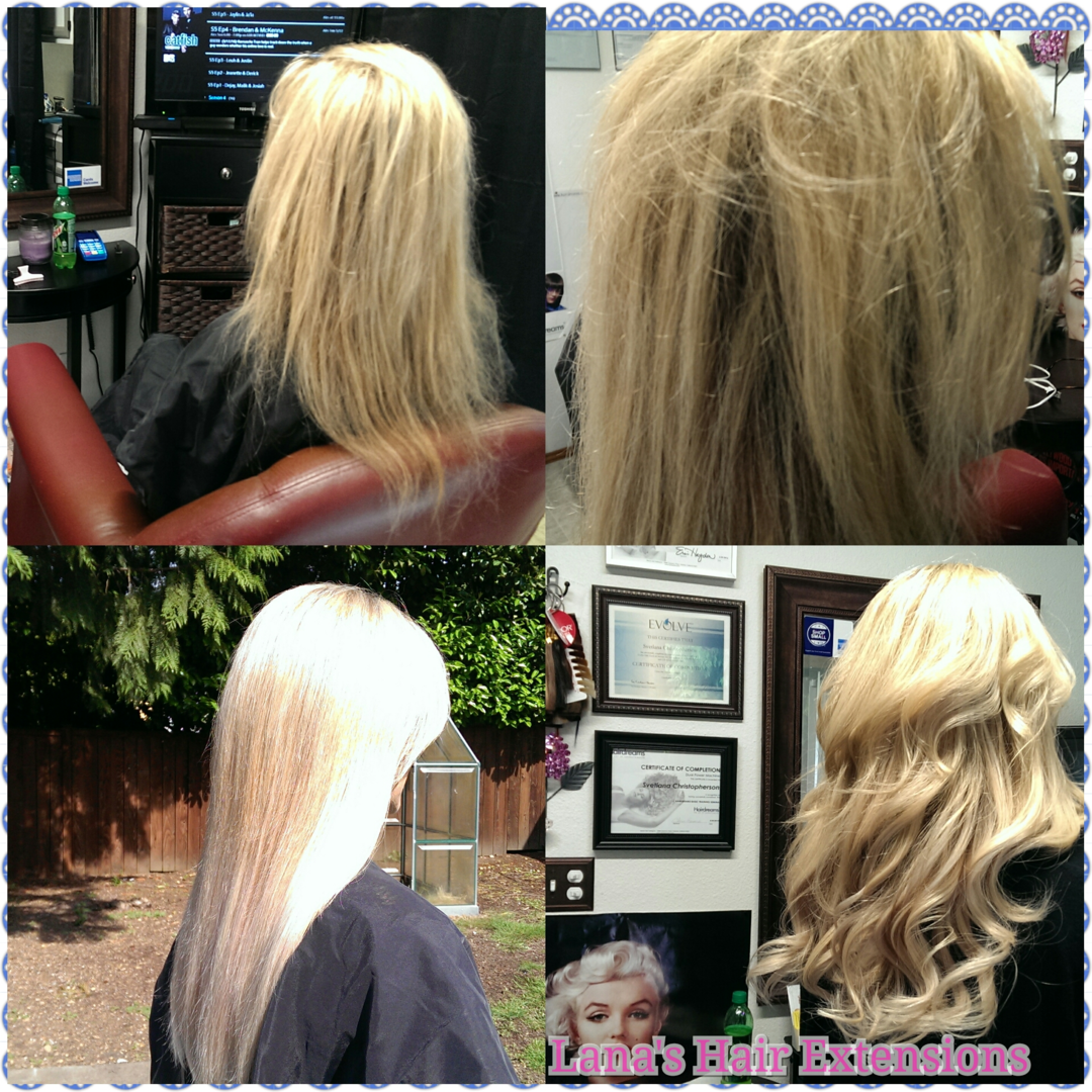 High Quality Hair Extension Volumizing System For Thinning Hair