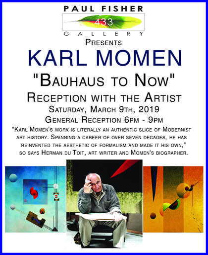 Karl Momen - Bauhaus to Now