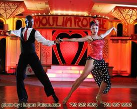 Sweet 15 Moulin Rouge Quinceanera by Lopez Falcon Quinces Photography Miami Quince Party theme Ideas Tips Photography video dresses choreography cakes Fifteens Stage Decoration Moulin Rouge