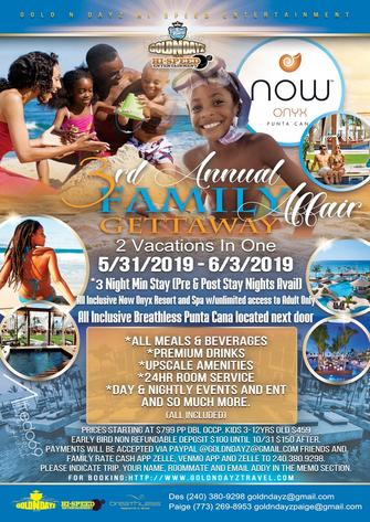 3rd Annual Family Affair