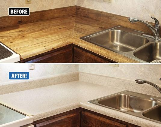 Affordable Countertop Refinishing or Repair | Handyman Services of McAllen