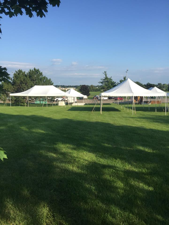 The most common use for commercial tents is temporary storage for goods, inventory and supplies.