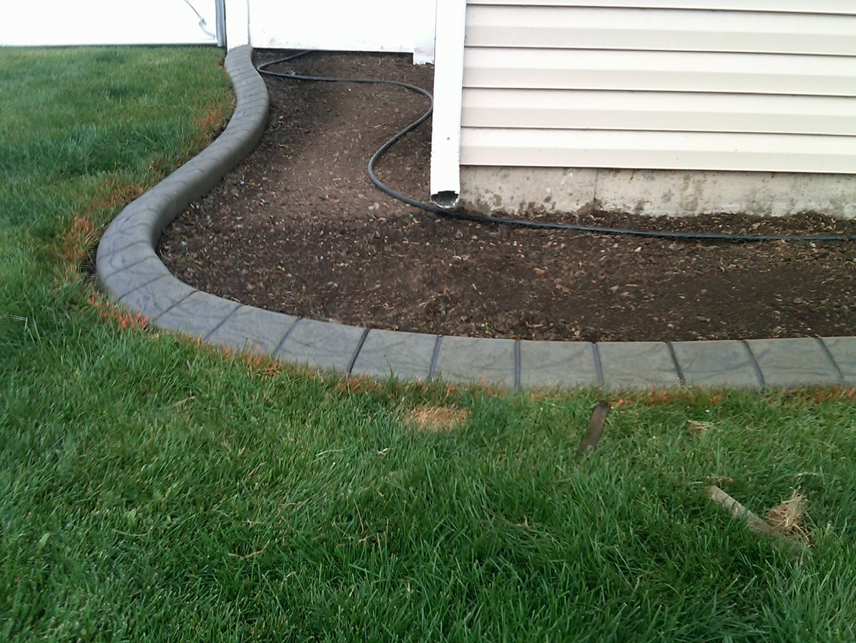 Concrete Curbing Landscape Edging Garden curbing Pictures