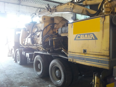 Colmar Baler Man Truck For Sale