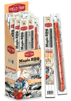 BBQ Maple Jerky Sticks