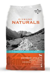 Diamond Natural with Chicken and Rice Extreme Athlete Dog Food
