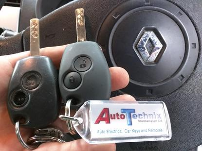 Replacement Renault remote keys