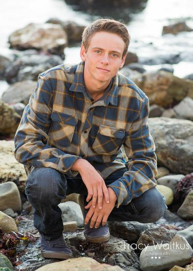 Pismo Beach senior portraits