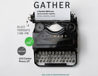 Gather, a B2B Event Utah County
