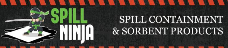 Spill Ninja Spill Containment And Sorbent Products
