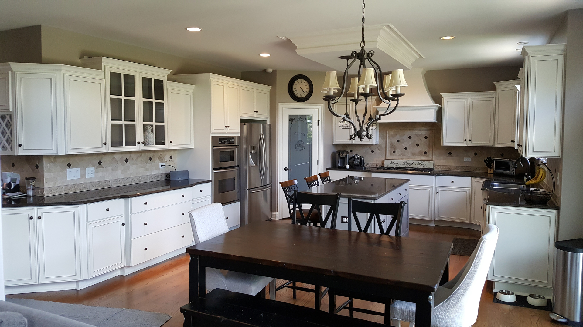 Kammes Colorworks Inc Home Page Kitchen Cabinet Refinishing