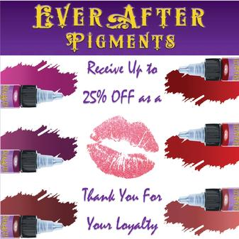 http://Automatically receive 15% off all of our pigments ordered from now till 08/01/2018. If you refer a friend or colleague and they make a purchase, you will receive an extra 10% off to be used by 08/01/2018. Just provide us with the full name of the customer that you have referred. We will then send you the coupon code after they make a purchase. If you refer two or more customers you will receive 10% off all pigment orders until 12/31/2018. THAT'S NOT ALL! Anyone you REFER will also receive 15% off their order.