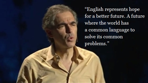 Do you think technology is re-writing the English language?