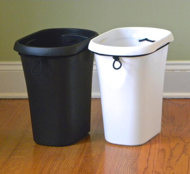 Bathroom Trash Cans With Lids The Wondrbasket Tm Trash Can Household Heroes Llc